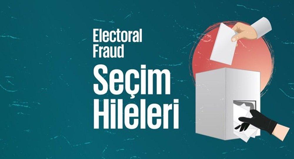 'Seçim Hileleri' isimli Twitter hesabı