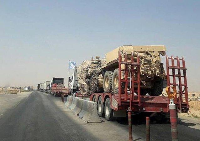 ABD Irak'tan Suriye'ye yeni sevkiyatı