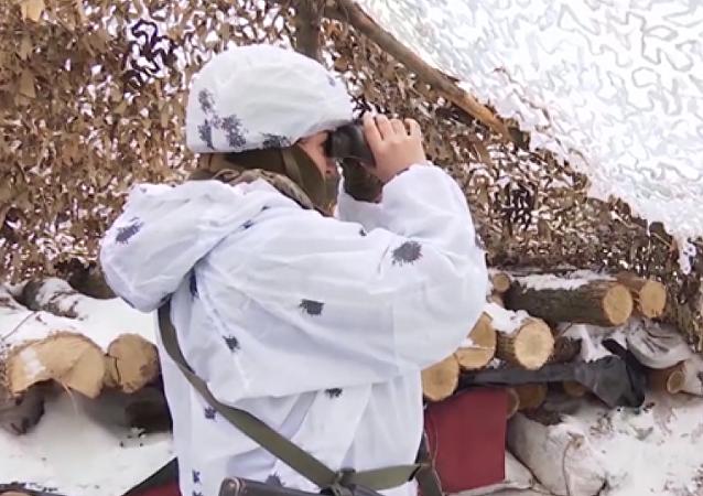 Kadın makineli tüfek nişancısı 'Cadı' Donbass'ta hayatını kaybetti