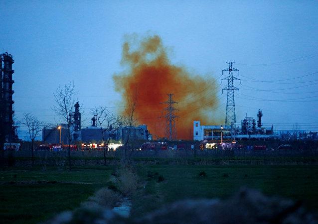 Çin'de kimya tesisindeki patlamada