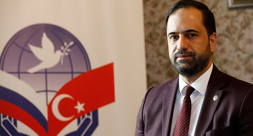 Türk-Rus Toplumsal Forumu Türk Kanadı Eş Başkanı Ahmet Berat Çonkar