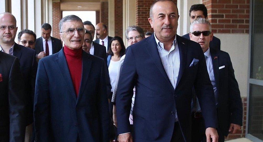 Mevlüt Çavuşoğlu - Aziz Sancar
