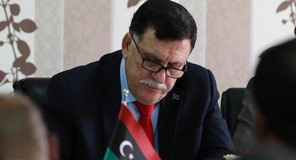Libya Ulusal Mutabakat Hükümeti (UMH) Başkanlık Konseyi Başkanı Fayiz es-Serrac