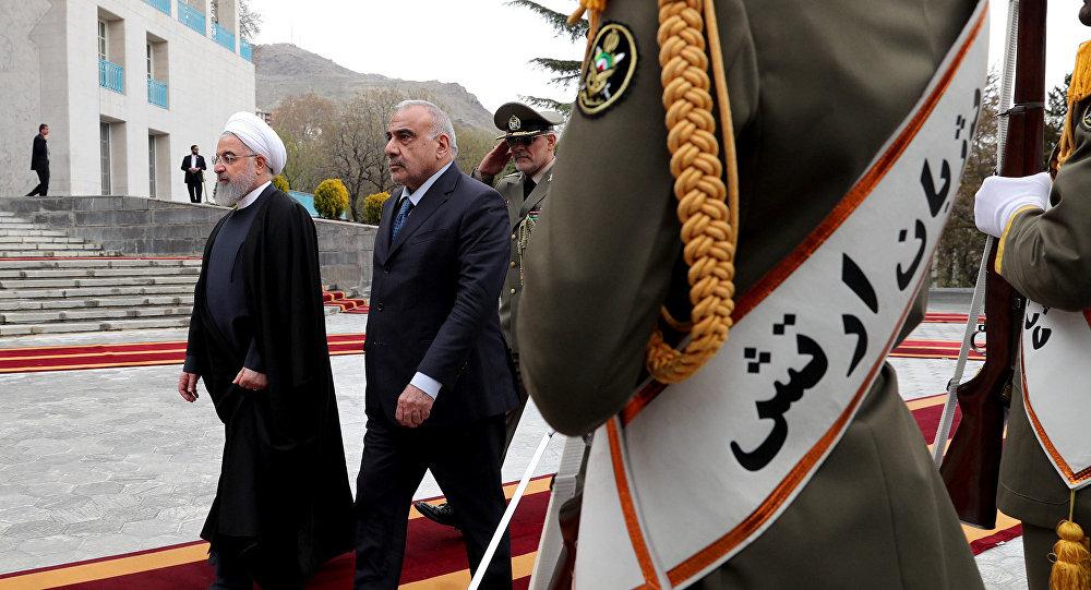 İran Cumhurbaşkanı Hasan Ruhani - Irak Başbakanı Adil Abdulmehdi
