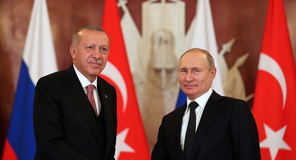 Vladimir Putin - Recep Tayyip Erdoğan