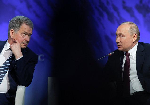 Putin'den Finlandiya Cumhurbaşkanı Niinisto'ya: Kırım ile Arktika'nın bir alakası yok