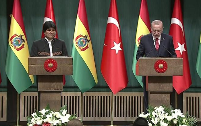 Bolivya lideri Morales Türkiye'de: 2020 yılında her iki ülkede özel etkinlikler düzenlenecek