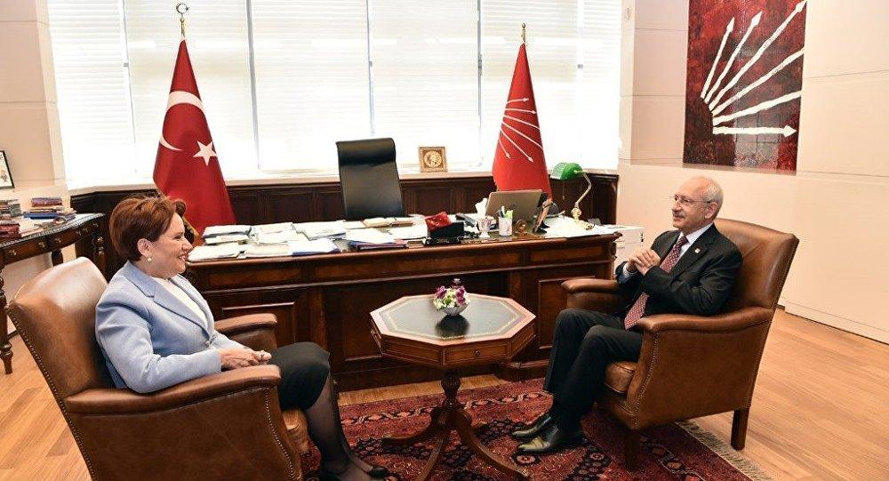 Kemal Kılıçdaroğlu - Meral Akşener görüşmesi