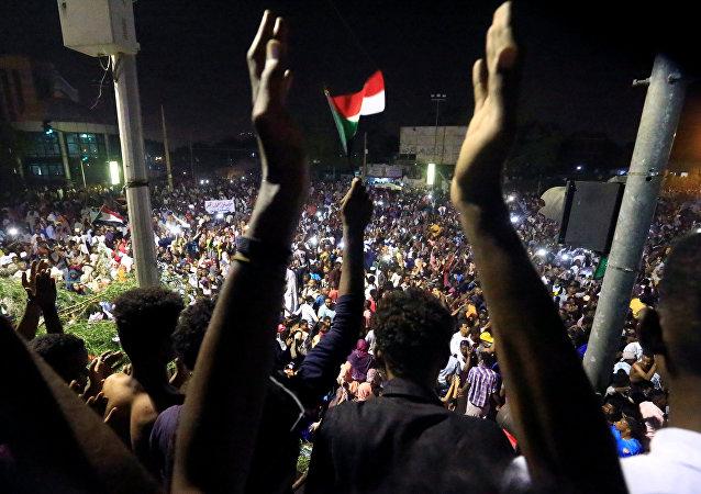 Sudan'daki gösteriler