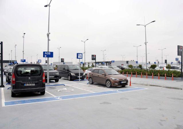 İstanbul Havalimanı otopark