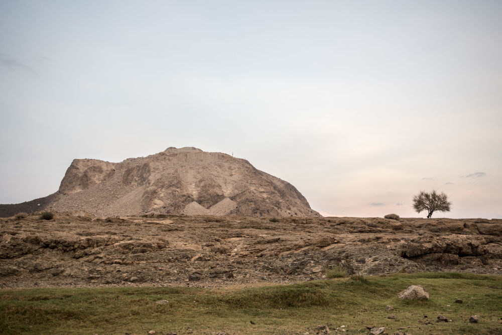 İran'ın en büyük doğaltaş madeninden kareler