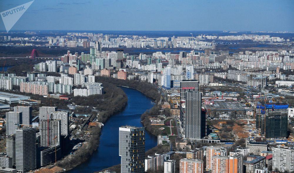 Moskova'daki PANORAMA360 seyir terası