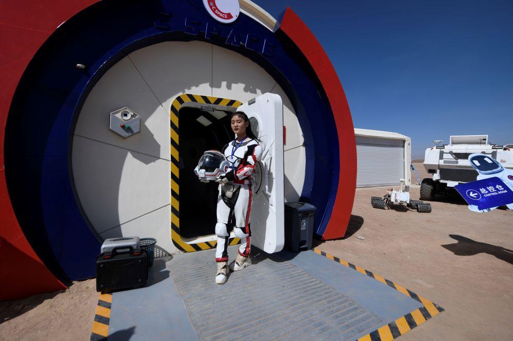 Çin'in Gobi çölündeki Mars üssü