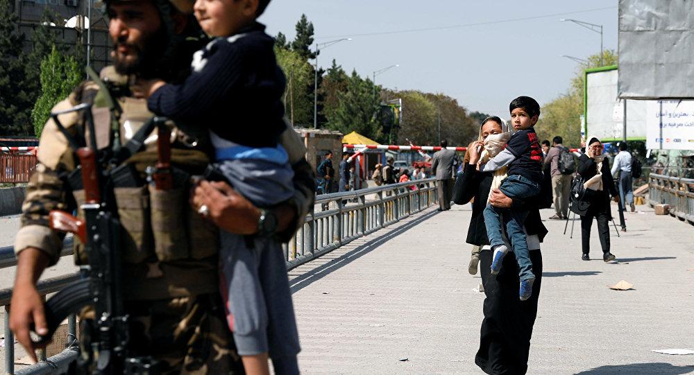 Afganistan'ın başkenti Kabil'de bakanlık binasına saldırı