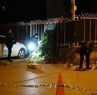 İzmir'de NATO lojmanlarına saldırı