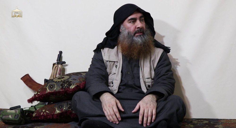 IŞİD lideri Ebubekir el Bağdadi'ye ait olduğu söylenen yeni görüntüler ortaya çıktı