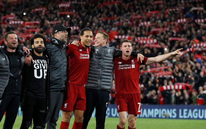 Liverpool, 3-0'ın rövanşında Barcelona'yı devirip finale yükseldi