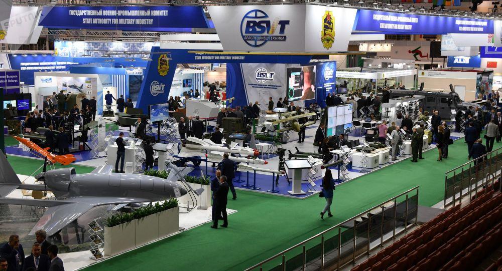 Minsk'te düzenlenen MILEX-2019  Uluslararası Savunma Sanayii Fuarı'na Türkiye dahil onlarca ülkeden modern silah sanayii, askeri teçhizat, elektro-optik ve termal görüntüleme sistemleri alanında faaliyet gösteren yüzlerce  üretici firma katılıyor.