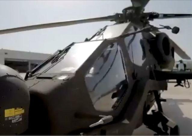 Jandarma Genel Komutanlığının envanterine yeni katılan J-1526 KANUNİ kuyruk numaralı Atak helikopteri için hazırlanan video klip, komutanlığın sosyal medya hesaplarından paylaşıldı.