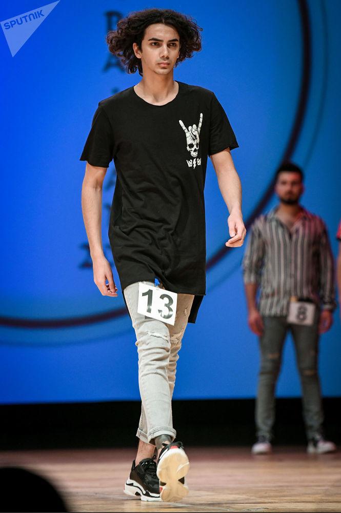 Mister Azerbaijan 2019  unvanını kazanan Nijat Alekberli