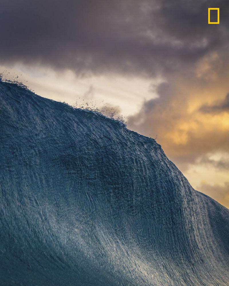 Fotoğrafçı Danny Sepkowski'nin Hawai'deki Oahu şehrinin doğusunda çektiği dalga fotoğrafı, Doğa kategorisinde ikincilik ödülüne layık görüldü