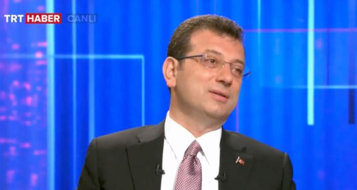 Ekrem İmamoğlu, TRT Haber'de soruları yanıtladı.
