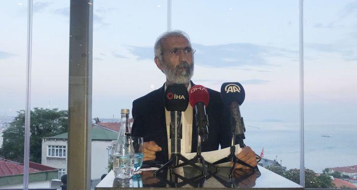 Doç. Dr. Ali Kemal Özcan, Abdullah Öcalan ile yaptığı görüşmeye ilişkin basın açıklaması düzenleyerek Abdullah Öcalan'a ait olduğu söylenen mektubu okudu.