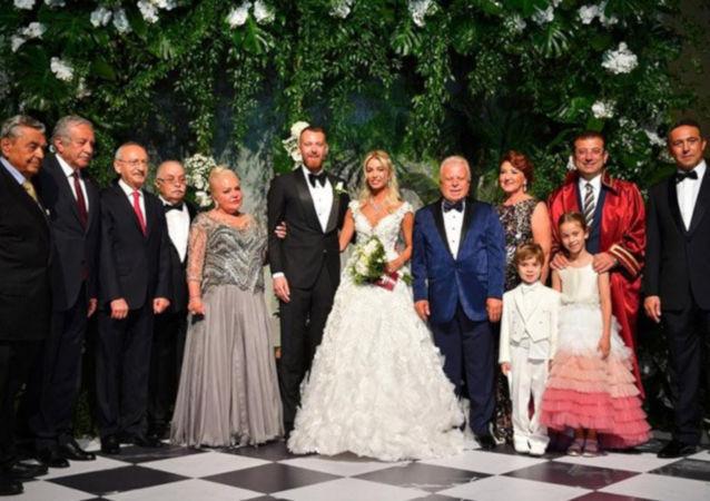 İmamoğlu, İBB Başkanı olarak ilk nikahını kıydı