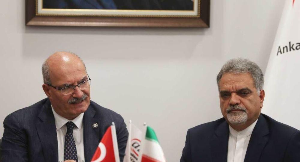 İran'ın Ankara Büyükelçisi Muhammed Farazmand-Ankara Ticaret Odası (ATO) Başkanı Gürsel Baran