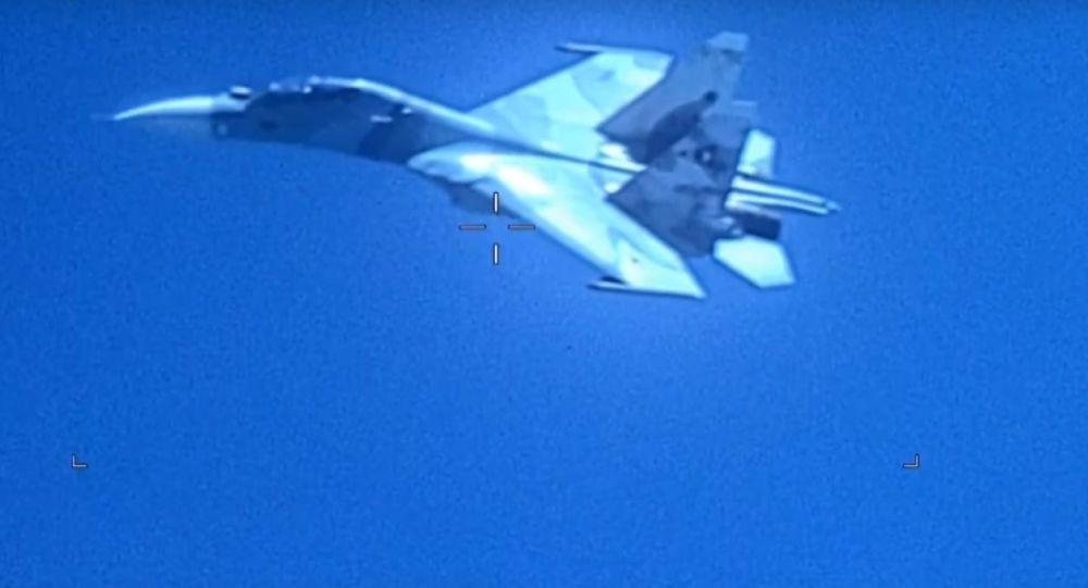 Venezüella'ya ait Su-30 uçağı