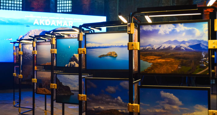 Akdamar Kutsal Haç Kilisesi Fotoğraf Sergisi'nden kareler