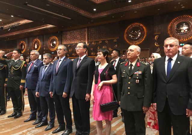 Çin Halk Kurtuluş Ordusu'nun 92. kuruluş yıl dönümü Ankara'da kutlandı