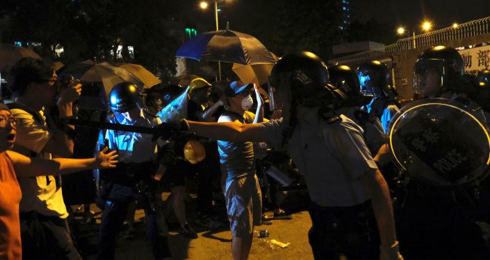 Hong Kong'da gösteriler