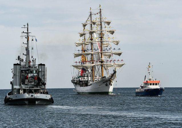 29. Hanse Yelkenli Gemi Festivali, Almanya'nın Rostock şehrinde bugün öğleden sonra başladı.
