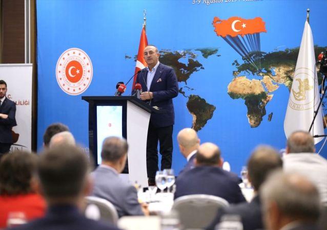 Milli Mücadele'nin 100. yılı nedeniyle, 11. Büyükelçiler Konferansı'nın son gününde Samsun'a gelen Dışişleri Bakanı Mevlüt Çavuşoğlu ve beraberindeki Büyükelçiler, özel bir otelde Sahada ve Masada Güçlü Diplomasi konulu konferansa katıldı. Çavuşoğlu, burada konuşma yaptı.