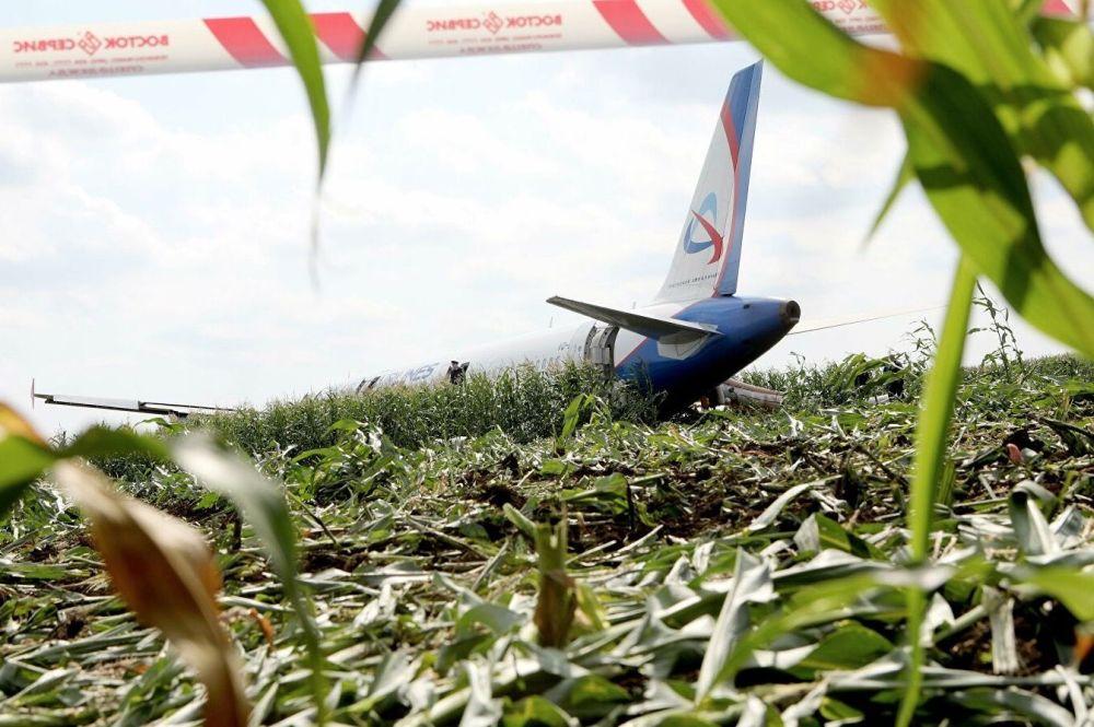 Rusya Sağlık Bakanlığı yetkilileri, bir kuş sürüsüne çarpması ve motorlarının normal biçimde çalışmayı bırakması nedeniyle başkent Moskova'nın güneydoğusundaki bir mısır tarlasına acil iniş yapan Airbus 321 tipi yolcu uçağındaki 23 kişinin yaralandığını, ancak kimsenin hayatını kaybetmediğini söyledi.