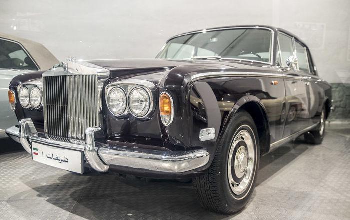 Son İran Şahı Muhammed Rıza Pehlevi'nin otomobil koleksiyonundan Rolls Royce Silver Shadow