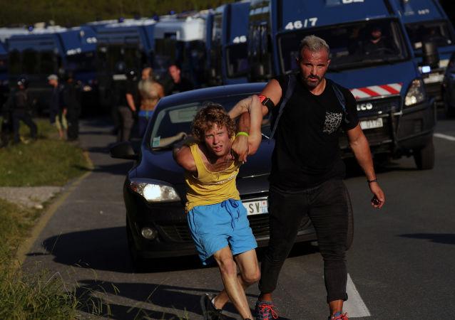 G7 Zirvesi öncesinde Fransa'da protestolar