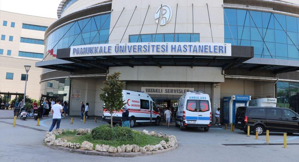Denizli Pamukkale Üniversitesi (PAÜ) Hastanesine kaldırılan Rusya vatandaşı 12 yaşındaki Alisa Adamova'nın hayati tehlikesi sürüyor