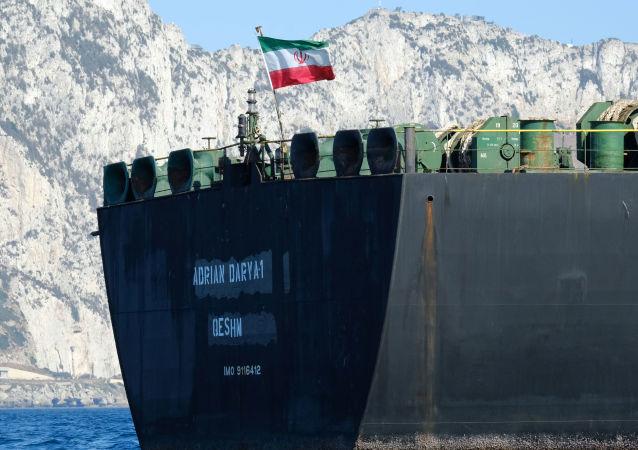 Uluslararası bir skandalın ortasında kaldıktan sonra adı 'Grace 1'den 'Adrian Darya 1'e çevrilen İran'a ait petrol tankeri