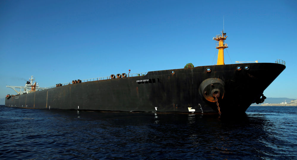 Adı 'Grace 1'den 'Adrian Darya 1'e çevrilen İran'a ait petrol tankeri
