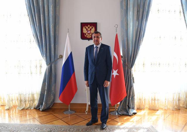 Rusya Federasyonu İstanbul Başkonsolosu Andrey Buravov