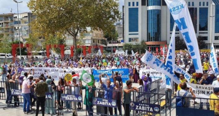 İstanbul'da 1 Eylül Mitingi