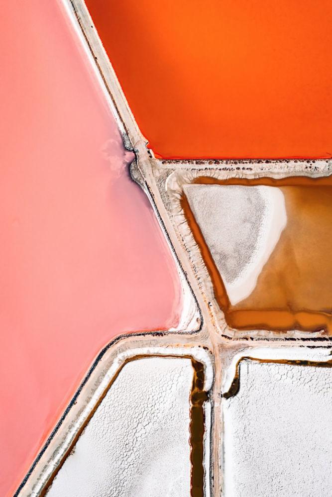 Alman fotoğrafçı Hegen'in deniz tuz üretimine odaklandığı Tuz serisinden bir kare.