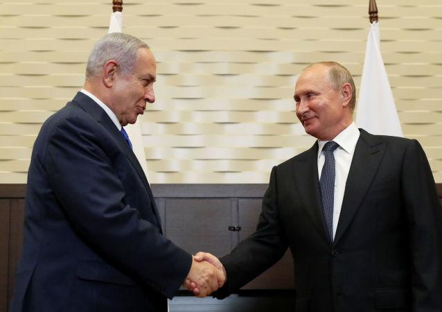 Rusya Devlet Başkanı Vladimir Putin, İsrail Başbakanı Benyamin Netanyahu ile Soçi'de görüştü