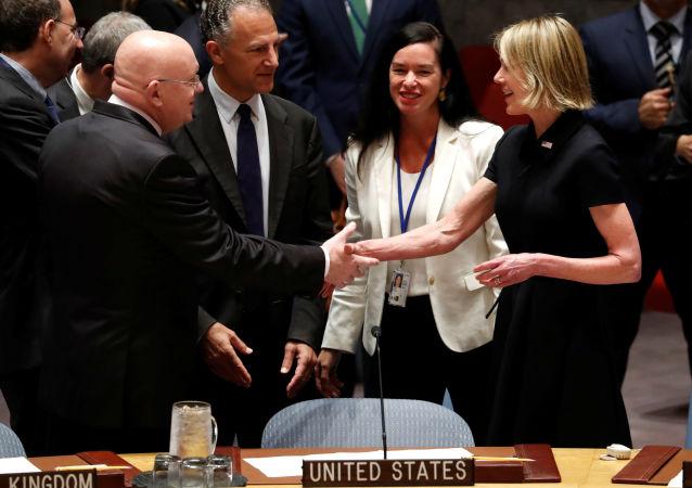 ABD'nin yeni Birleşmiş Milletler (BM) Daimi Temsilcisi Kelly Craft, görevine başladı.
