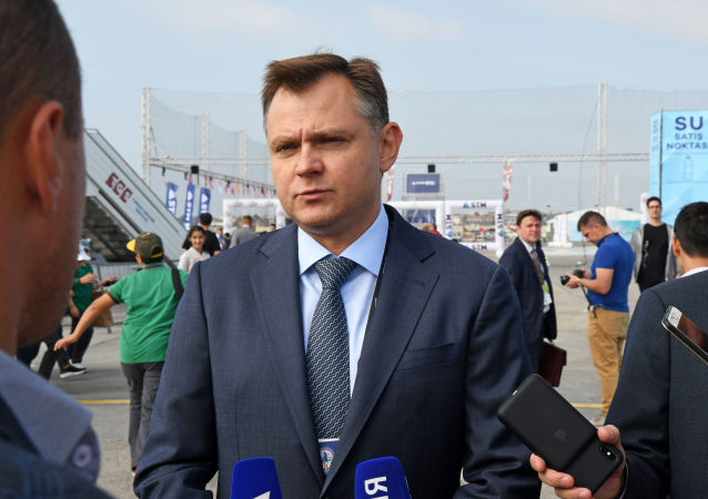 Rusya Birleşik Uçak Şirketi (UAC) Genel Müdürü Yuriy Slyusar