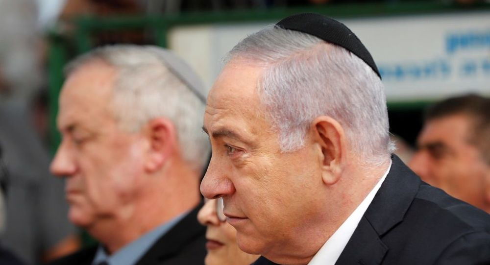 Benyamin Netanyahu - Benny Gantz