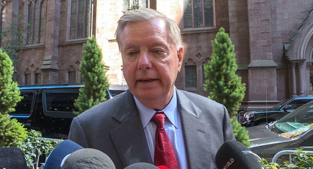 ABD'li Cumhuriyetçi Senatör Lindsey Graham