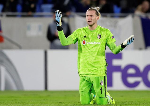 Loris Karius büyük hata yaparak gol yediği Slovan Bratislava-Beşiktaş maçında